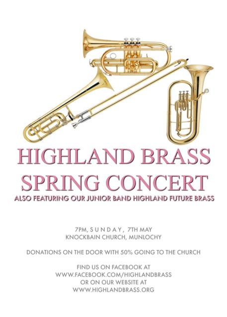 Highland Brass Spring Concert